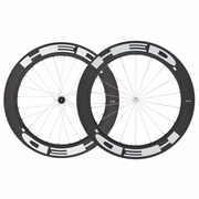 HED Stinger 7 Flamme Rouge Carbon Tubular Bicycle Wheelset