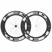 HED Stinger 9 Flamme Rouge Carbon Tubular Bicycle Wheelset
