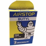 Michelin Airstop Butyl Presta Valve Tube - 52mm