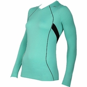 Mizuno Breath Thermo V-Neck Running Top - Women's