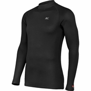 Mizuno Breath Thermo Wool Mock Running Turtleneck - Men's