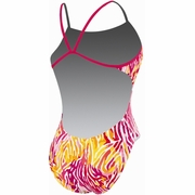 Nike Animal Attraction Cut Out Tank Swimsuit - Women's