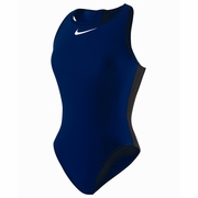 Nike Core Solid High Neck Tank Water Polo Suit - Women's