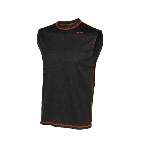 Nike dri fit solid sleeveless workout shirt men 39 s Fitness shirts for men