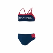 Nike Guard Sport Top 2 Piece Swimsuit - Women's
