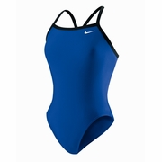 Nike Nylon Core Solid Lingerie Tank Swimsuit - Girl's