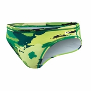 Nike Painted Camo Brief Water Polo Suit - Men's