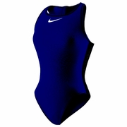 Nike Solid High Neck Tank Water Polo Suit - Women's
