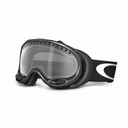 Oakley A Frame Asian Fit Snow Goggle - Jet Black Frame