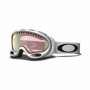 Oakley A Frame Asian Fit Snow Goggle - Matte White Frame