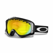 Oakley Crowbar Polarized Snow Goggle - Jet Black Frame