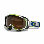 Oakley Crowbar Snow Goggle - Factory Slant 2 Green Frame