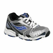Saucony Baby Cohesion 5 LTT Running Shoe - Boy's - Extra Wide Width