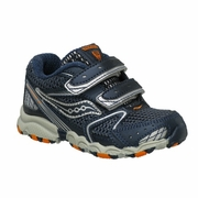 Saucony Cohesion 5 H&L Big Kid Running Shoe - Boy's - Wide Width