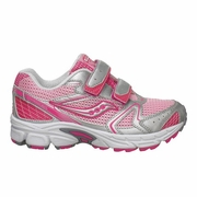 Saucony Cohesion 5 H&L Little Kid Running Shoe - Girl's - Extra Wide Width