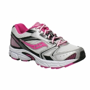 Saucony Cohesion 5 LTT Big Kid Running Shoe - Girl's - Extra Wide Width