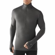 SmartWool Midweight Funnel Zip Base Layer - Men's