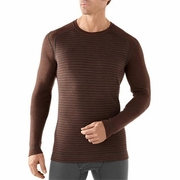 SmartWool Midweight Pattern Crew Base Layer - Men's