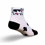 SockGuy Cow Sock - Women's