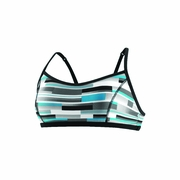 Speedo Bars And Blocks Keyhole Swimsuit Top - Women's