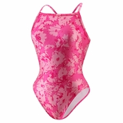 Speedo Breaststroke 4 Hope Graphic Daisy Fly Back Swimsuit - Women's