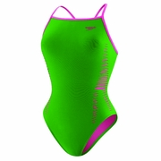 Speedo Endurance Lite Flipturns Laser Cut Extreme Back Swimsuit - Women's