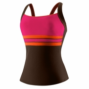 Speedo Endurance Plus Horizon Splice Ultraback Tankini - Women's