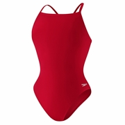 Speedo Endurance Plus Solid Flyback Training Swimsuit - Girl's