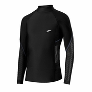 Speedo Fitness Long Sleeve Rash Guard - Men's