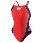 Speedo Lifeguard Axcel Back Swimsuit - Girl's