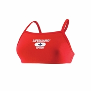 Speedo Lifeguard Solid Fly Back Swimsuit Top - Women's