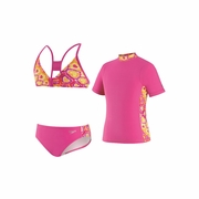 Speedo Love Burst 3-Piece Swimsuit - Girl's