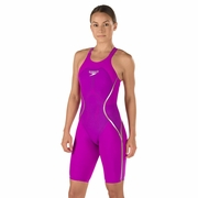 Speedo LZR Racer X Open Back Kneeskin Technical Swimsuit - Women's