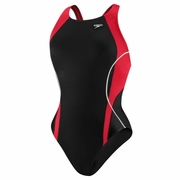 Speedo Optik Splice Drop Back Swimsuit - Women's