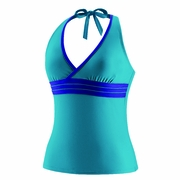 Speedo Piped Halterkini Swimsuit Top - Women's