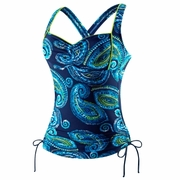 Speedo Primitive Paisley Cross Back Tankini - Women's