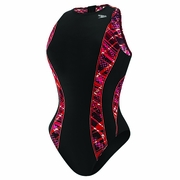 Speedo Print Splice Water Polo Suit - Women's