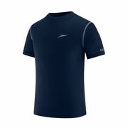 Speedo Short Sleeve Swim Tee Rashguard - Kid's
