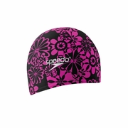 Speedo Solid Lycra Swim Cap