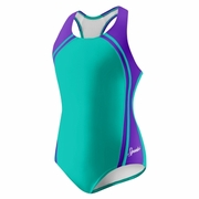 Speedo Sport Splice Swimsuit - Girl's