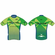 Trivillage Louis Garneau Custom Bicycle Jersey - Women's