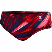 TYR Asteroid All Over Racer Swim Brief - Men's