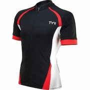 TYR Carbon VLO Short Sleeve Cycling Jersey - Men's