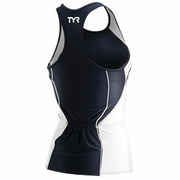 TYR Competitor Fitted Tankini Print Triathlon Top - Women's