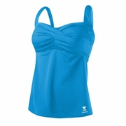 TYR Solid Twisted Bra Tankini - Women's