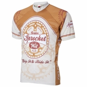 World Jersey Moab Brewery Sprocket Ale Short Sleeve Cycling Jersey - Men's