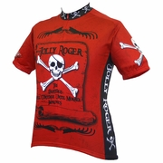 World Jerseys Jolly Roger Pirate Cycling Jersey - Men's