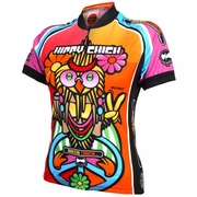 World Jerseys Precaryous Hippy Chick Cycling Jersey - Women's