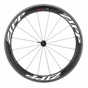 Zipp 404 Firecrest Carbon Clincher Front Bicycle Wheel - Classic White