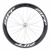 Zipp 404 Firecrest Track Tubular Rear Bicycle Wheel - Classic White